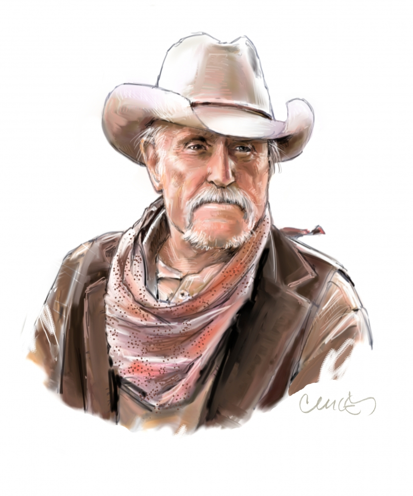 Robert Duvall by Roger_Curley